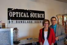 Optical Source by Sunglass Source Donna and Ray Montoya